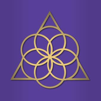 Logo Bowspring Malva y Dorado